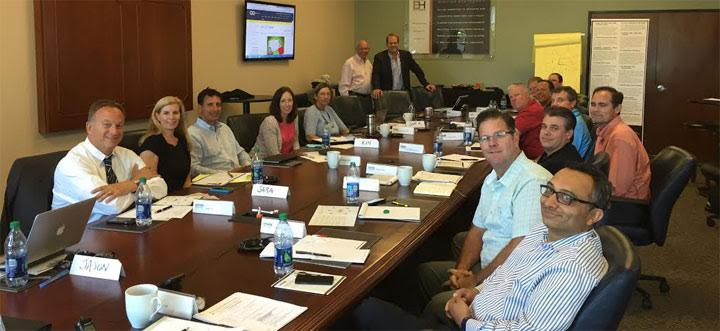 Vistage Brandywine Valley Group meets with featured speaker Jason Lavin